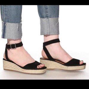 Steve Madden Elody espadrille sandals black 7.5